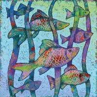 Swim with the Fishes Fine Art Print