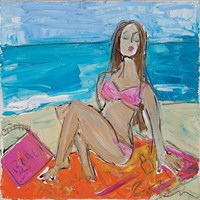 Beach Girl Fine Art Print