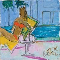 Orange Bikini Fine Art Print