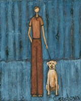 Man's Best Friend Fine Art Print
