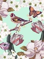 Bird Garden III Framed Print