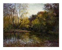 Bend in the River at Morrow Fine Art Print