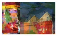 Pharaohs & Pyramids II Framed Print