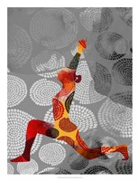 Yoga Pose IV Framed Print