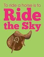 Ride the Sky Fine Art Print