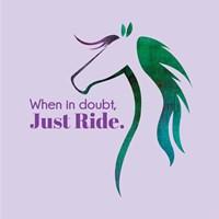 Horse Quote 12 Fine Art Print