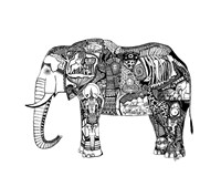 Goodbye Elephant Fine Art Print