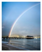 Rainbows at Hanalei II Fine Art Print
