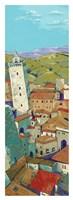 Rooftops of San Gimignano Fine Art Print