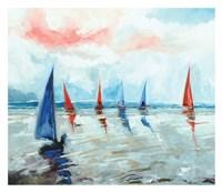 Sailing Boats Regatta Fine Art Print