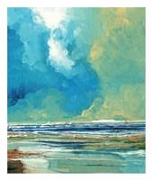 Sea View on Board I Fine Art Print