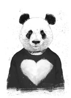 Lovely Panda Fine Art Print