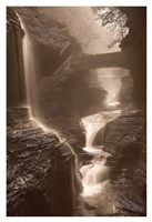 Waterfall on a Rainy Day Fine Art Print