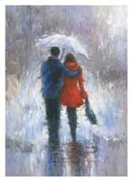 Rain Romance Fine Art Print