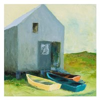 Boat House Fine Art Print