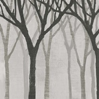 Spring Trees Greystone I Framed Print