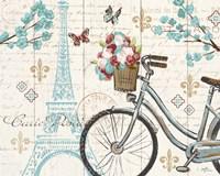 Paris Tour II Framed Print