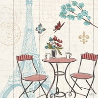 Paris Tour VI Framed Print