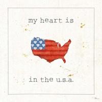 USA Cuties II Framed Print