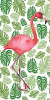 Tropical Flamingo I Framed Print