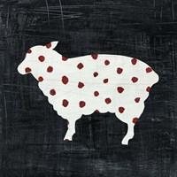 Modern Americana Farm II Fine Art Print