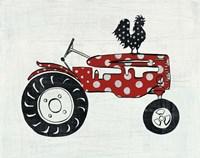 Modern Americana Farm V Fine Art Print