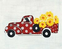 Modern Americana Farm VI Fine Art Print