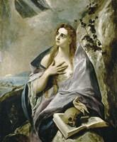 Penitent Magdalen, c. 1576-1578 Fine Art Print