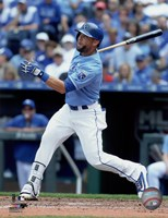 Alex Gordon 2016 Action Fine Art Print