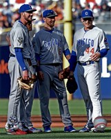 Chicago Cubs All-Star Infield 2016 MLB All-Star Game Fine Art Print