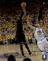 Kyrie Irving Three Pointer Game 7 of the 2016 NBA Finals Fine Art Print