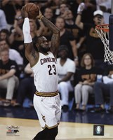 Lebron James Game 6 of the 2016 NBA Finals Fine Art Print