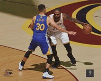 Stephen Curry & Lebron James Game 3 of the 2016 NBA Finals Fine Art Print