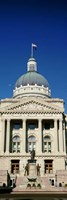 Indiana State Capitol Building, Indianapolis, Indiana Fine Art Print