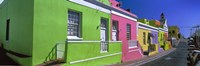 Colorful Houses, Cape Town, South Africa Fine Art Print