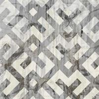 Neutral Metric II Framed Print