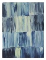 Aurora Blues I Framed Print