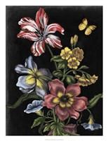 Dark Floral I Framed Print