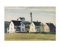 Lighthouse Village (also known as Cape Elizabeth), 1929 Fine Art Print
