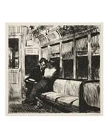 Night on the El Train, 1918 Fine Art Print