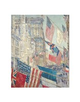Allies Day, May 1917, 1917 Fine Art Print