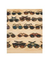 Five Rows of Sunglasses, 2000 Fine Art Print