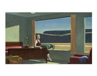 Western Motel, 1957 Fine Art Print