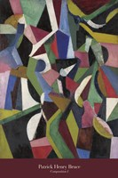 Composition I, 1916 Fine Art Print