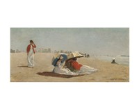 East Hampton Beach, Long Island, 1874 Fine Art Print
