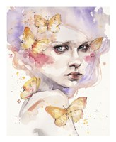 All a Flutter Fine Art Print