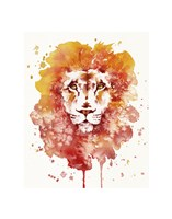 Pride (Watercolor Lion) Fine Art Print