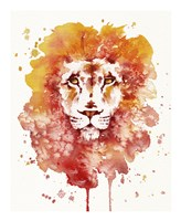 Pride (Watercolor Lion) Fine Art Print