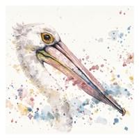 Pelicans About Fine Art Print