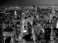 Midtown Manhattan at Night 2 Fine Art Print